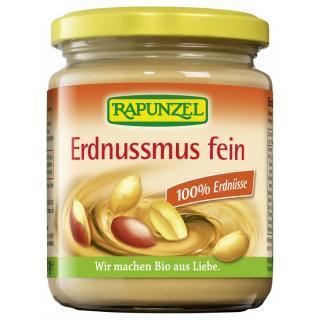 Erdnussmus fein ohne Salz 250g