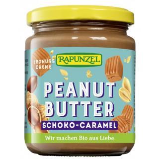 Peanutbutter Schoko-Caramel Creme 250g