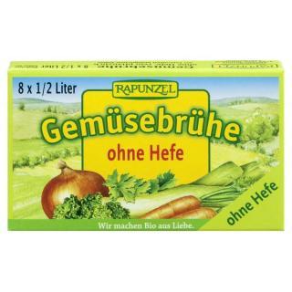 Gemüse-Brühwürfel o.Hefe 80g