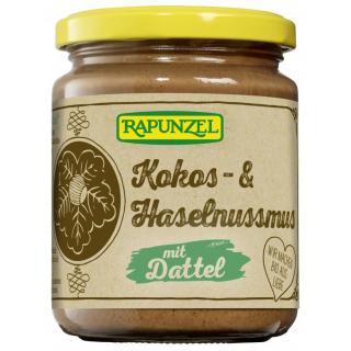 Kokos- & Haselnussmus mit Dattel 250g