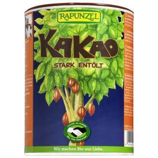 Kakaopulver stark entölt 250g