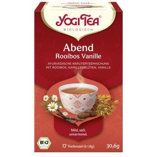 Abend Tee Rooibusch Vanille 17 Teebeutel