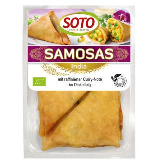 Samosas, indische Gemüse-Ecken 250g