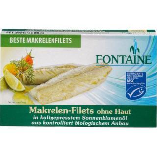 Makrelenfilet o. Haut & Gräten 120g