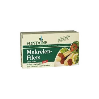 Makrelenfilets Tomatencreme 125g