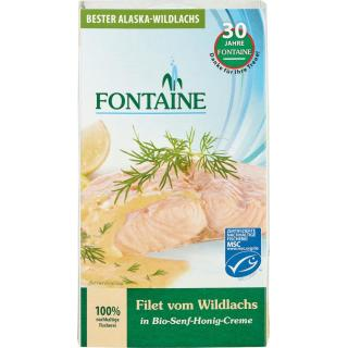 Wildlachsfilet in Senf-Honig-Creme 200g