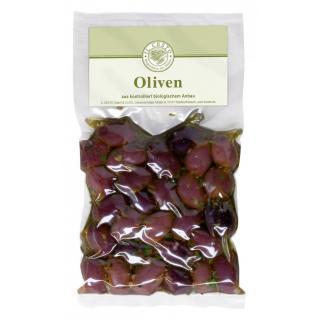 V-Kalamata Olive schwarz ohne Stein, mariniert 175g