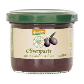 Griechische Olivenpaste schwarz 100g