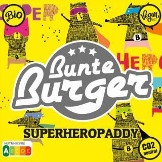 Superheropaddy Burger vegan 125g