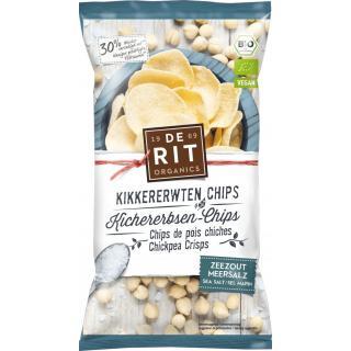 Kichererbsen-Chips Meersalz 75g