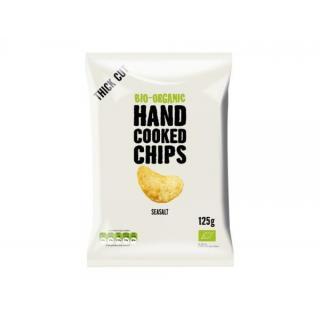 Handcooked Chips gesalzen 125g